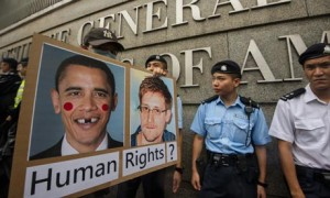 Edward Snowden Supporters Gather In Hong Kong
