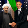 Obama and Hassan Rohani
