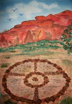 the Medicine Wheel, Sedona