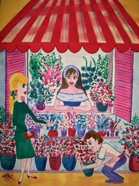 Flower Mart - Nice, France