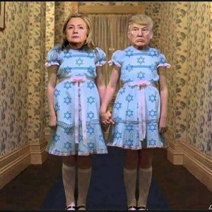 TrumpHillaryTheShining